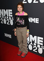 Beabadoobee at the NME Awards 2020 held at the O2 Brixton Academy, London on February 12th 2020<br /> CAP/ROS<br /> ©ROS/Capital Pictures