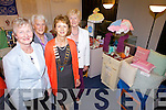 CRAFTY: Members from ICA groups around the county gathered in the Ashe Memorial Hall on Monday afternoon for their Art and Craft Exhibition. From l-r were: Breda Browne, Monica Prendiville, Noreen McEvoy (President of the ICA) and Cllr. Mairead Fernane.