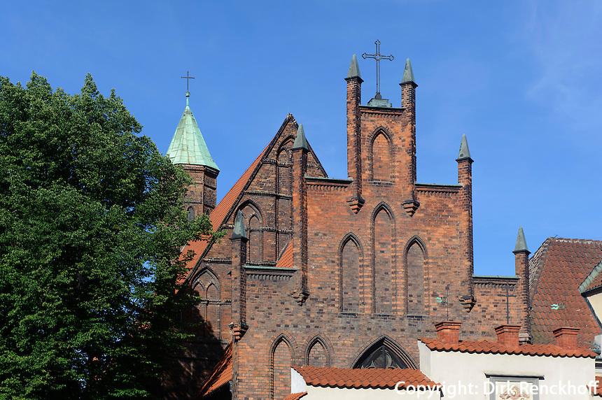 St. Elisabeth (Kosciol Sw.Elzbiety) in Danzig (Gdansk), Woiwodschaft Pommern (Wojew&oacute;dztwo pomorskie), Polen, Europa<br /> St.Elizabeth in Gdansk, Poland, Europe