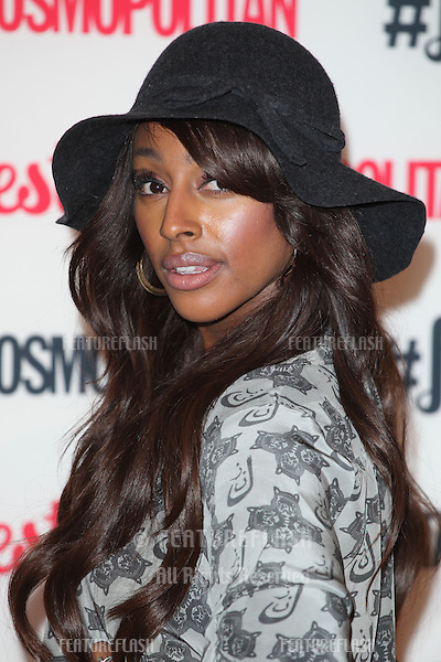 Alexandra Burke arriving for the Cosmopolitan Fashfest, at Battersea Evolution, London. 18/09/2014 Picture by: Alexandra Glen / Featureflash