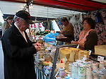 Guy at the Saturday morning market in Paris