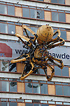 La Princesse, the giant spider created by La Machine, in Liverpool during Capital of Culture year 2008