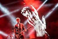 CIUDAD DE MEXICO, D.F. 13  Marzo.-  El grupo Interpol durante el festival Vive Latino 2015 en el Foro Sol de la Ciudad de México. el 13 de Marzo de 2015.  FOTO: ALEJANDRO MELENDEZ