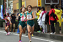 (L-R) Mei Suzuki, Eri Sato (Mitsui Sumitomo Kaijo), NOVEMBER 3, 2011 - Ekiden : East Japan Industrial Women's Ekiden Race at Saitama, Japan. (Photo by Toshihiro Kitagawa/AFLO)