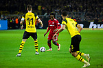 10.11.2018, Signal Iduna Park, Dortmund, GER, 1.FBL, Borussia Dortmund vs FC Bayern M&uuml;nchen, DFL REGULATIONS PROHIBIT ANY USE OF PHOTOGRAPHS AS IMAGE SEQUENCES AND/OR QUASI-VIDEO<br /> <br /> im Bild | picture shows:<br /> Renato Sanches (Bayern #35) gegen Marco Reus (Borussia Dortmund #11), <br /> <br /> Foto &copy; nordphoto / Rauch