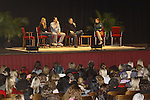 Melissa Ordway & Joshua Morrow & Eric Braeden & Melissa Claire Egan & fans - The Young and The Restless - Genoa City Live celebrating over 40 years with on February 27. 2016 at The Lyric Opera House, Baltimore, Maryland on stage with questions and answers followed with autographs and photos in the theater.  (Photo by Sue Coflin/Max Photos)