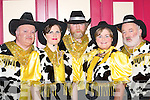 Singers: Neilus Curran, Ita Lane, Morgan OSullivan, Edel Conway and John OKeeffe who sang in the Calamity Dame pantomime in the Killorglin CYMS last Sunday..