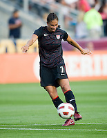 Shannon Boxx. The USWNT defeated Japan, 2-0,  at WakeMed Soccer Park in Cary, NC.