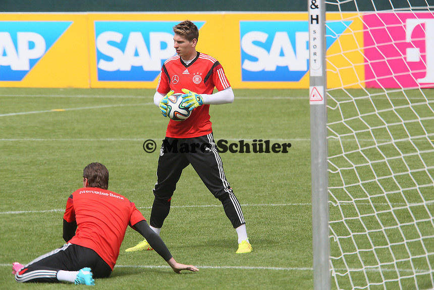 Ron-Robert Zieler und Roman Weidenfeller - Training der Deutschen Nationalmannschaft im Rahmen der WM-Vorbereitung in St. Martin