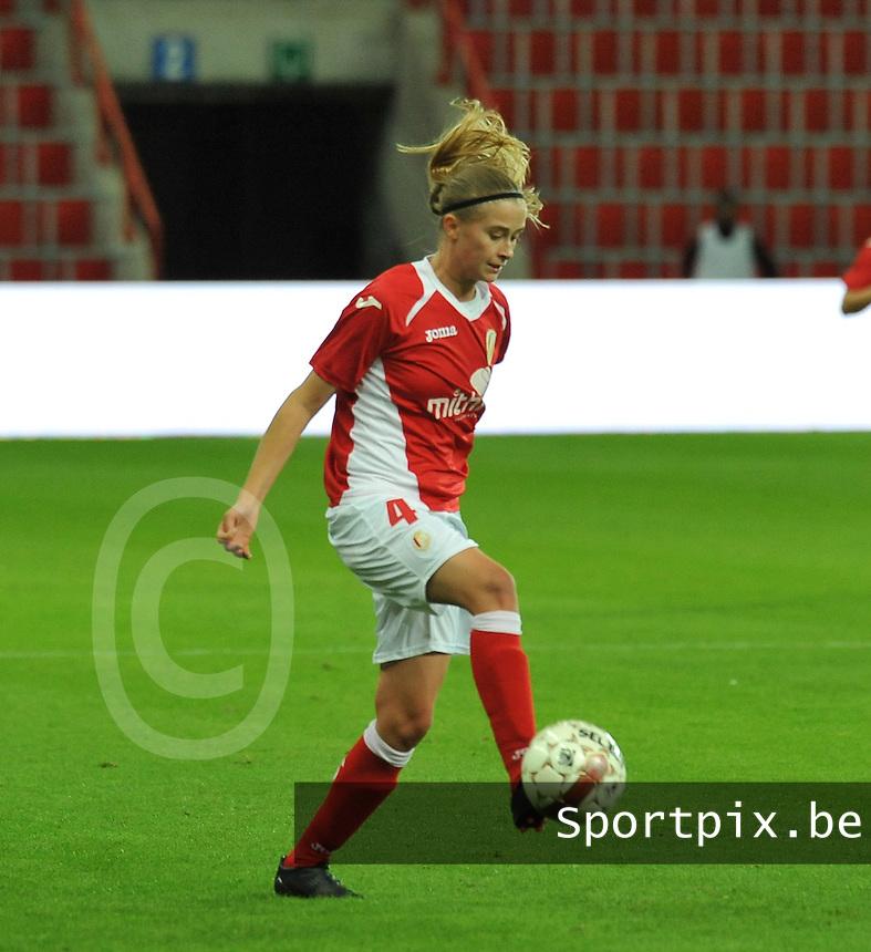 UEFA Women's Champions League: Standard de Liege v Turbine Potsdam ; Round of 32, First leg - 26/09/2012 - 19:00 CET - Stade Maurice Dufrasne - Liege :.Julie Biesmans.foto JOKE VUYLSTEKE / Vrouwenteam.be