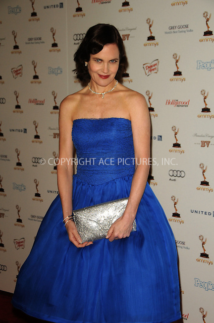 WWW.ACEPIXS.COM . . . . .  ....September 16 2011, LA....Elizabeth McGovern arriving at the 63rd Annual Emmy Awards Performers Nominee Reception held at Pacific Design Center on September 16, 2011 in West Hollywood, California. ....Please byline: PETER WEST - ACE PICTURES.... *** ***..Ace Pictures, Inc:  ..Philip Vaughan (212) 243-8787 or (646) 679 0430..e-mail: info@acepixs.com..web: http://www.acepixs.com