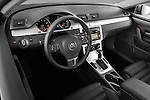 2010 Volkswagen CC Sport R-Line Sedan High Angle Dashboard View Stock Photo