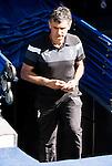 Eibar FC's coach Jose Luis Mendilibar Echebarria during a match of La Liga Santander at Santiago Bernabeu Stadium in Madrid. October 02, Spain. 2016. (ALTERPHOTOS/BorjaB.Hojas)