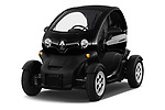 2018 Renault Twizy Cargo 3 Door Hatchback angular front stock photos of front three quarter view