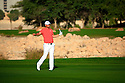 Bernd Weisberger (AUT) in action during the final round of the Commercial Bank Qatar Masters played at Doha Golf Club, Doha, Qatar. 21-24 January 2015 (Picture Credit / Phil Inglis)