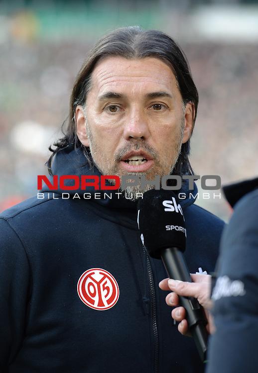 04.04.2015, Weserstadion, Bremen, GER, 1.FBL, Werder Bremen vs 1. FSV Mainz 05, im Bild Martin Schmidt (Trainer 1. FSV Mainz 05)<br /> <br /> Foto &copy; nordphoto / Frisch