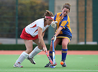 Basildon HC Ladies vs Upminster HC Ladies 21-11-09