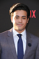 "30 March 2017 - Los Angeles, California - Christian Navarro .  Premiere Of Netflix's ""13 Reasons Why"" held at Paramount Studios in Los Angeles. Photo Credit: Birdie Thompson/AdMedia"