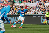 Miguel Allan of Napoli  during the  italian serie a soccer match, AS Roma -  SSC Napoli       at  the Stadio Olimpico in Rome  Italy , March 31, 2019