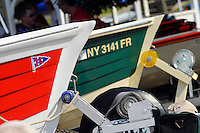 Bow detail, Jersey Speed Skiffs