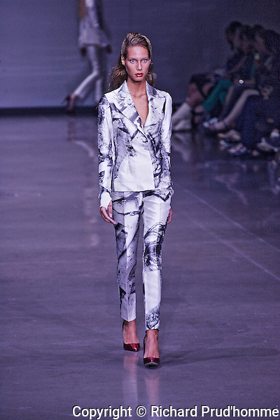 UNTTLD Spring-Summer 2014 collection fashion show at Montreal Fashion Week