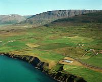 Ásland og Brekkukot, séð til norðausturs, Hofshreppur / Oslo and Bekkukot viewing northeast, Hofshreppur