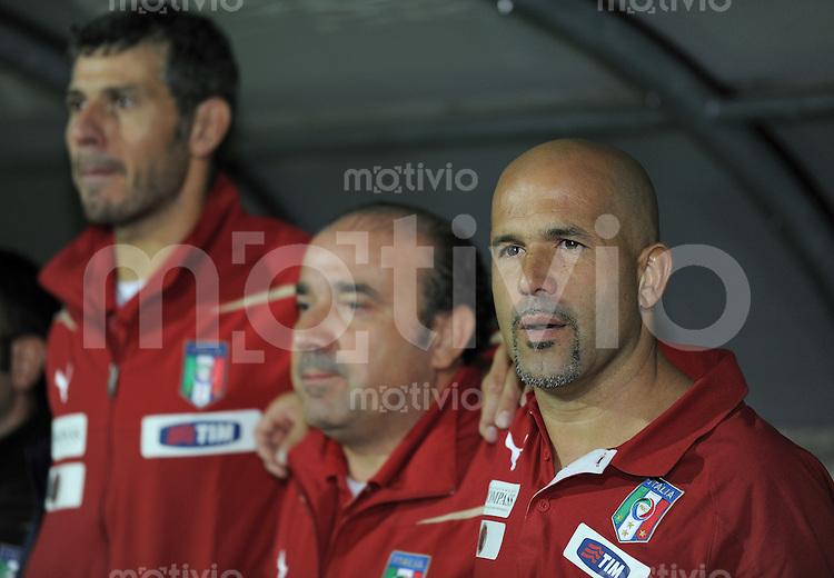 FUSSBALL INTERNATIONAL Laenderspiel U 20   05.10.2011 Deutschland - Italien Trainer Luigi Di Biagio (Italien)