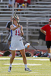 Placentia, CA 05/14/10 - Kristin Robbins (Los Alamitos # 15) in action during the 2010 CIF Girls Lacrosse Championship game between Redondo Union and Los Alamitos, Los Alamitos defeated Redondo 24-7.