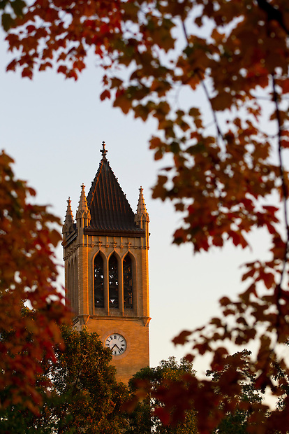 The Campanie on the campus of Iowa State University in Ames, Iowa. (Christopher Gannon/Gannon Visuals)