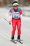 Masaru Hoshizawa (JPN),<br /> MARCH 14, 2018 - Cross-Country Skiing : <br /> Men's Sprint 1.5 km Standing Qualification<br /> at Alpensia Biathlon Centre   <br /> during the PyeongChang 2018 Paralympics Winter Games in Pyeongchang, South Korea. <br /> (Photo by Yusuke Nakanishi/AFLO SPORT)