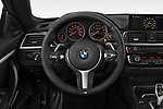 Car pictures of steering wheel view of a 2019 BMW 4-Series 440i-M-Sport Door Coupe Steering Wheel