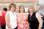 Waterbury, CT- 19 May 2017-051917CM12- SOCIAL MOMENTS-- From left, Teresa Migaldi of Torrington, Jackie Salerno of Wolcott and Karen Rodgers of Waterbury are photographed  during the Palace Theater's Palace 10.2: City Lights, City Nights celebration.  Christopher Massa Republican-American