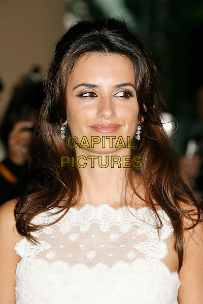 PENELOPE CRUZ.79th Annual Academy Awards Nominees Luncheon held at the Beverly Hilton Hotel, Beverly Hills, California, USA,.05 February 2007..portrait headshot white dress .CAP/ADM/RE.©Russ Elliot/AdMedia/Capital Pictures.