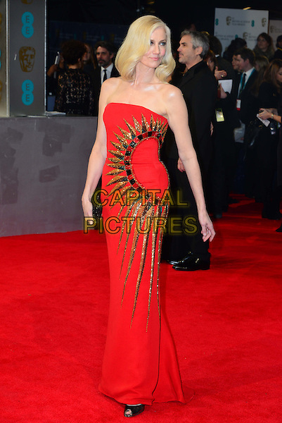 LONDON, ENGLAND - FEBRUARY 16:  Joely Richardson attends EE British Academy Film Awards (BAFTAs) at Royal Opera House, Covent Garden, on February 16, 2014, in London, England.  <br /> CAP/JOR<br /> &copy;Nils Jorgensen/Capital Pictures