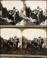 Double Take - Rare stereoscopic slides from the Great War.