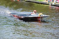 ALGEMEEN: SNEEK: juni 2014, DONG Energy Solar Challenge, CLAFIS Private Energy Solar Boat Team, ©foto Martin de Jong