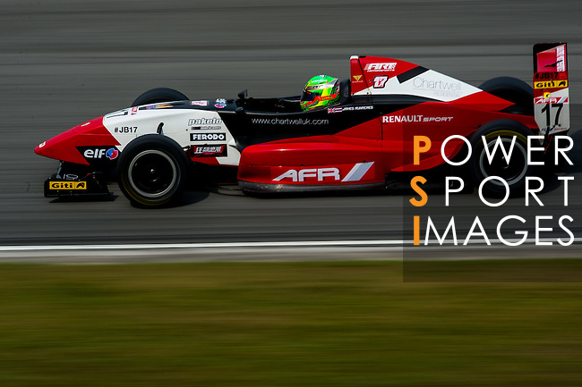 James Runacres of Asia Racing Team drives during the 2015 AFR Series as part the 2015 Pan Delta Super Racing Festival at Zhuhai International Circuit on September 20, 2015 in Zhuhai, China.  Photo by Aitor Alcalde/Power Sport Images