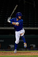 AZL Cubs 1 Zac Taylor (83) at bat during an Arizona League game against the AZL Royals on June 30, 2019 at Sloan Park in Mesa, Arizona. AZL Royals defeated the AZL Cubs 1 9-5. (Zachary Lucy/Four Seam Images)
