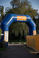 August 24, 2014, Netherlands, Amstelveen, De Kegel, National Veterans Championships, Exit<br /> Photo: Tennisimages/Henk Koster