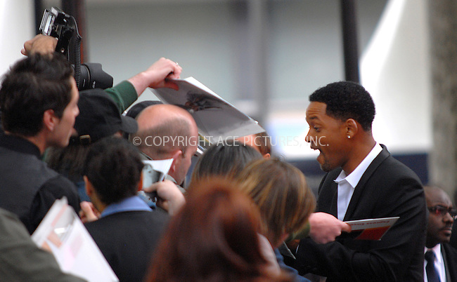 Will Smith at the UK premiere of 'Hancock' at Vue West End in London - 18 June 2008..FAMOUS PICTURES AND FEATURES AGENCY 13 HARWOOD ROAD LONDON SW6 4QP UNITED KINGDOM tel +44 (0) 20 7731 9333 fax +44 (0) 20 7731 9330 e-mail info@famous.uk.com www.famous.uk.com.FAM23359