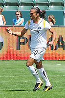 Marta #10 of the Los Angeles Sol celebrates scoring a goal against FC Gold Pride during their match at Home Depot Center on April 19, 2009 in Carson, California.