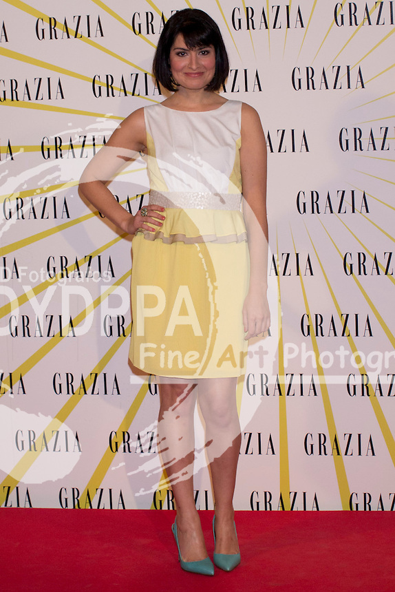 12.02.2013. Circo Price. Madrid. Spain. Celebrities attend the Party for the new magazine 'Grazia'. In the image: Ledicia Dolera. (C) Ivan L. Naughty / DyD Fotografos//