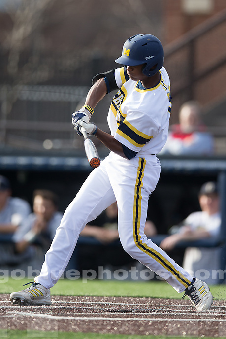 The University of Michigan Baseball team defeats Oakland University, 3-1, at the Wilpon Baseball Complex in Ann Arbor, Mich. on April 29, 2014.