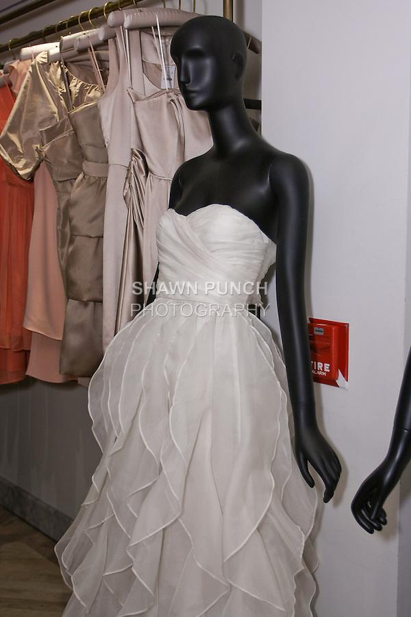 Wedding dress at the J. Crew Bridal Presentation, April 14, 2011.