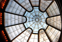 F.L. Wright: Guggenheim, Glass Roof.  Photo '78.