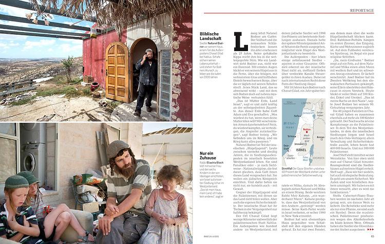 Focus Magazin, Germany - October 3, 2015