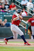 August 3, 2009:  Second Baseman David Newhan of the Lehigh Valley IronPigs during a game at Frontier Field in Rochester, NY.  Lehigh Valley is the International League Triple-A affiliate of the Philadelphia Phillies.  Photo By Mike Janes/Four Seam Images