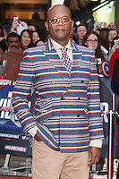 Samuel L Jackson<br /> arrives for the European premiere of &quot;Captain America: Civil War&quot; at Westfield, Shepherds Bush, London<br /> <br /> <br /> &copy;Ash Knotek  D3111 26/04/2016