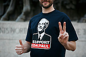 A Ron Paul supporter in Raleigh, NC.