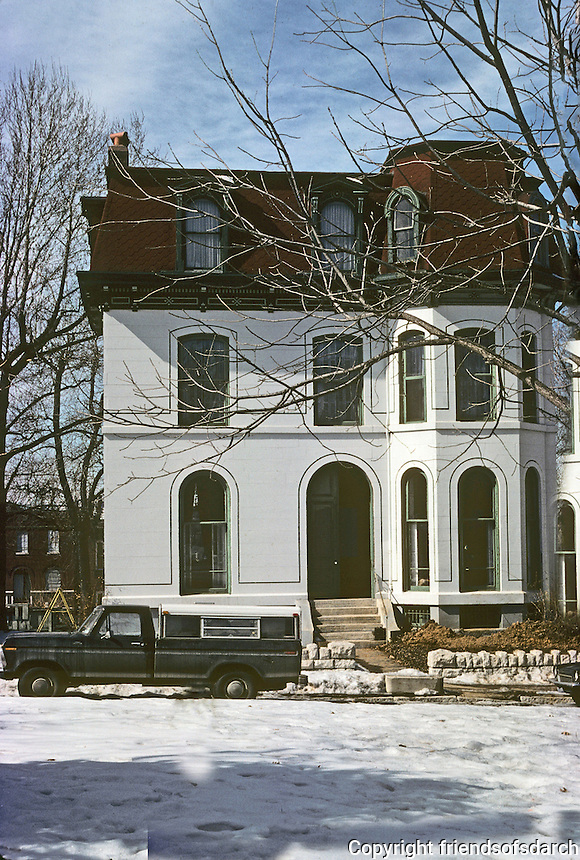 St. Louis: House, Benton Place. Photo '77.